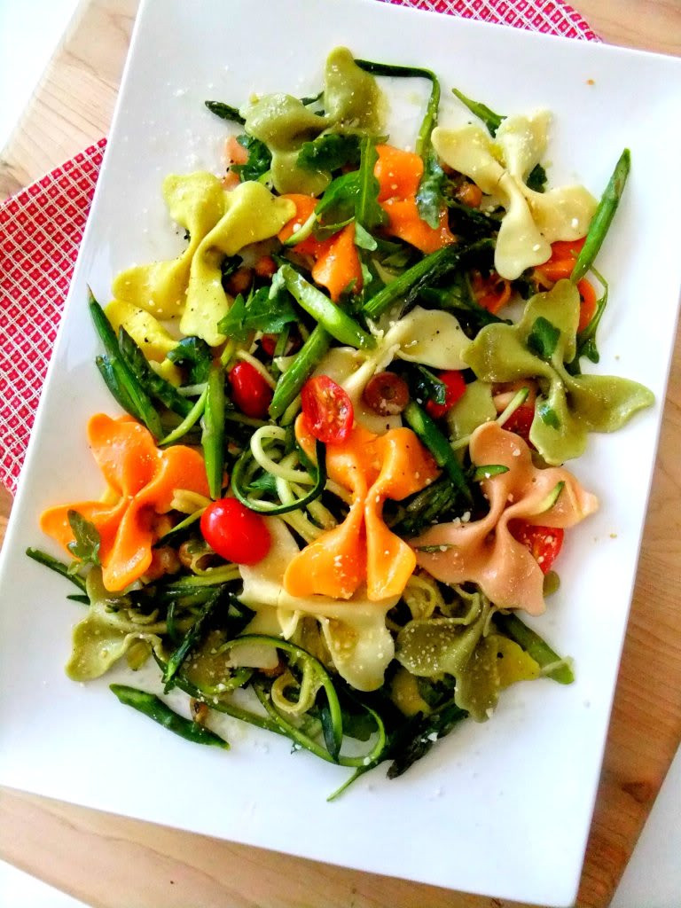 Farfalle Pasta Recipes Vegetarian  Farfalle Pasta Salad to Wel e in Spring Proud Italian Cook
