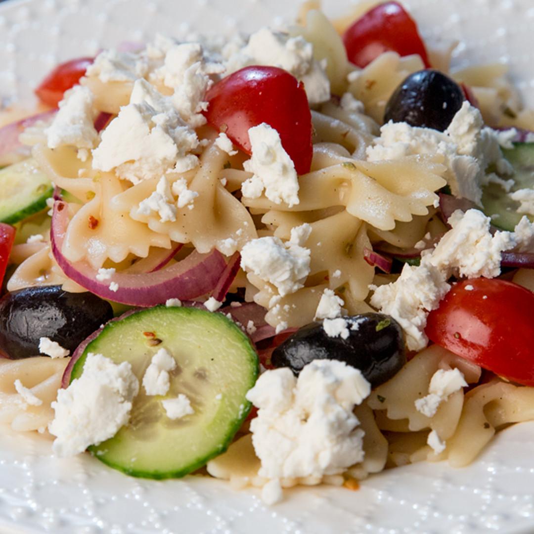 Farfalle Pasta Salad  So Delicious