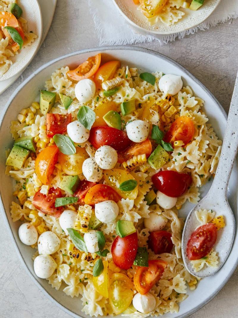 Farfalle Pasta Salad  Loaded Farfalle Pasta Salad