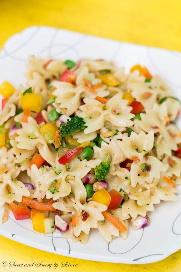 Farfalle Pasta Salad Recipe  Best 25 Farfalle pasta ideas on Pinterest