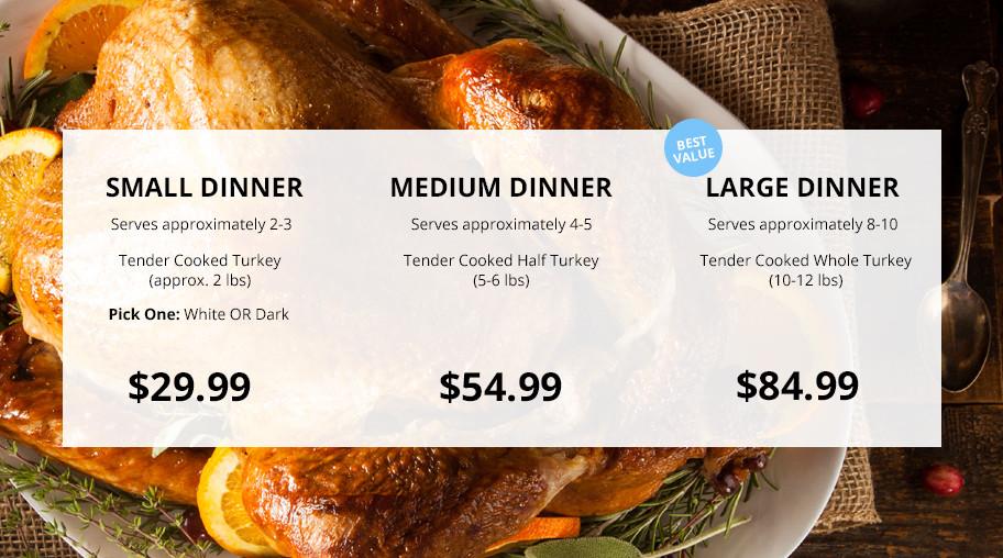 Festival Foods Thanksgiving Dinners  Heat & Serve Thanksgiving Dinner Less Roasting More