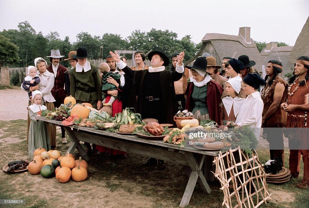 Festival Foods Thanksgiving Dinners  Before beginning their harvest festival we now call