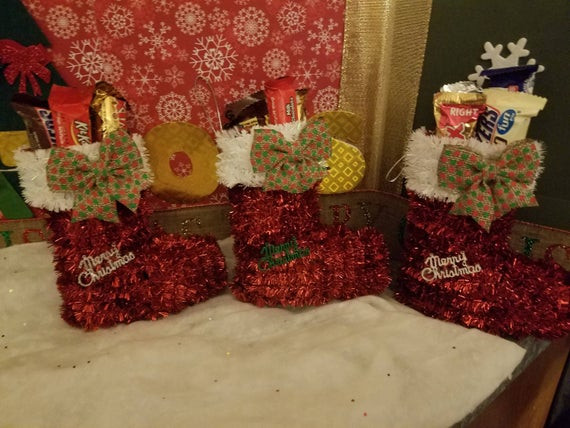 Filled Christmas Candy  Candy Filled Christmas Stocking
