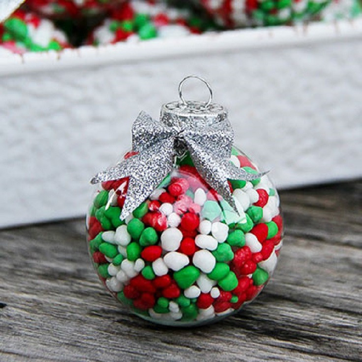 Filled Christmas Candy  Top 10 DIY Fun And Easy Ways To Dress Up Christmas