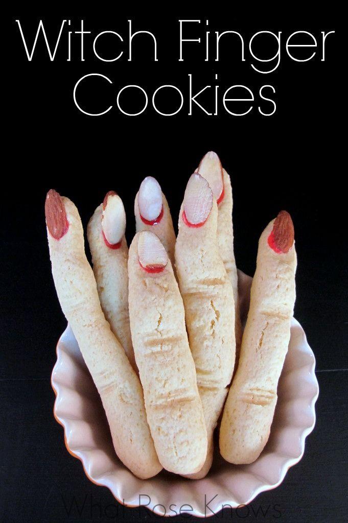 Fingers Cookies Halloween  Best 25 Finger cookies ideas on Pinterest