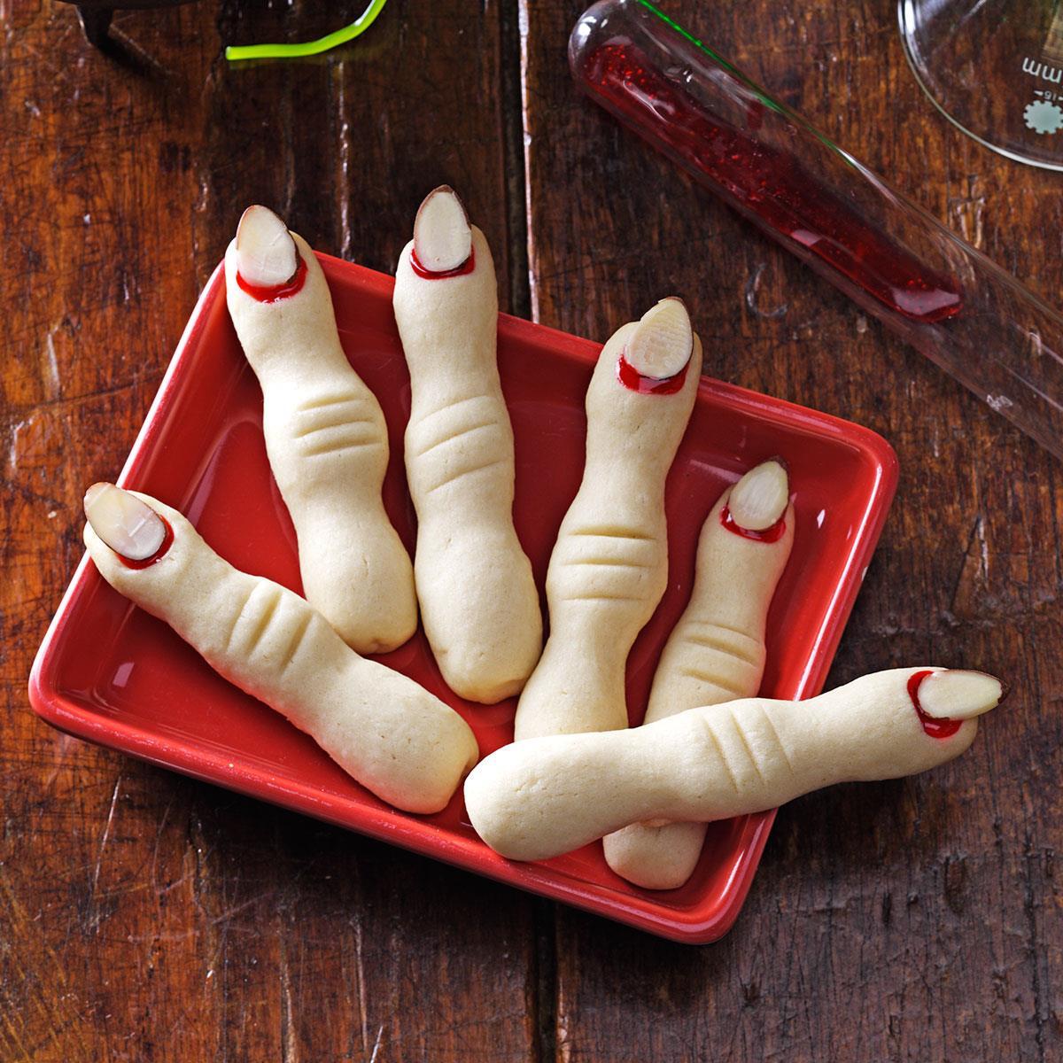 Fingers Cookies Halloween  Frightening Fingers Recipe