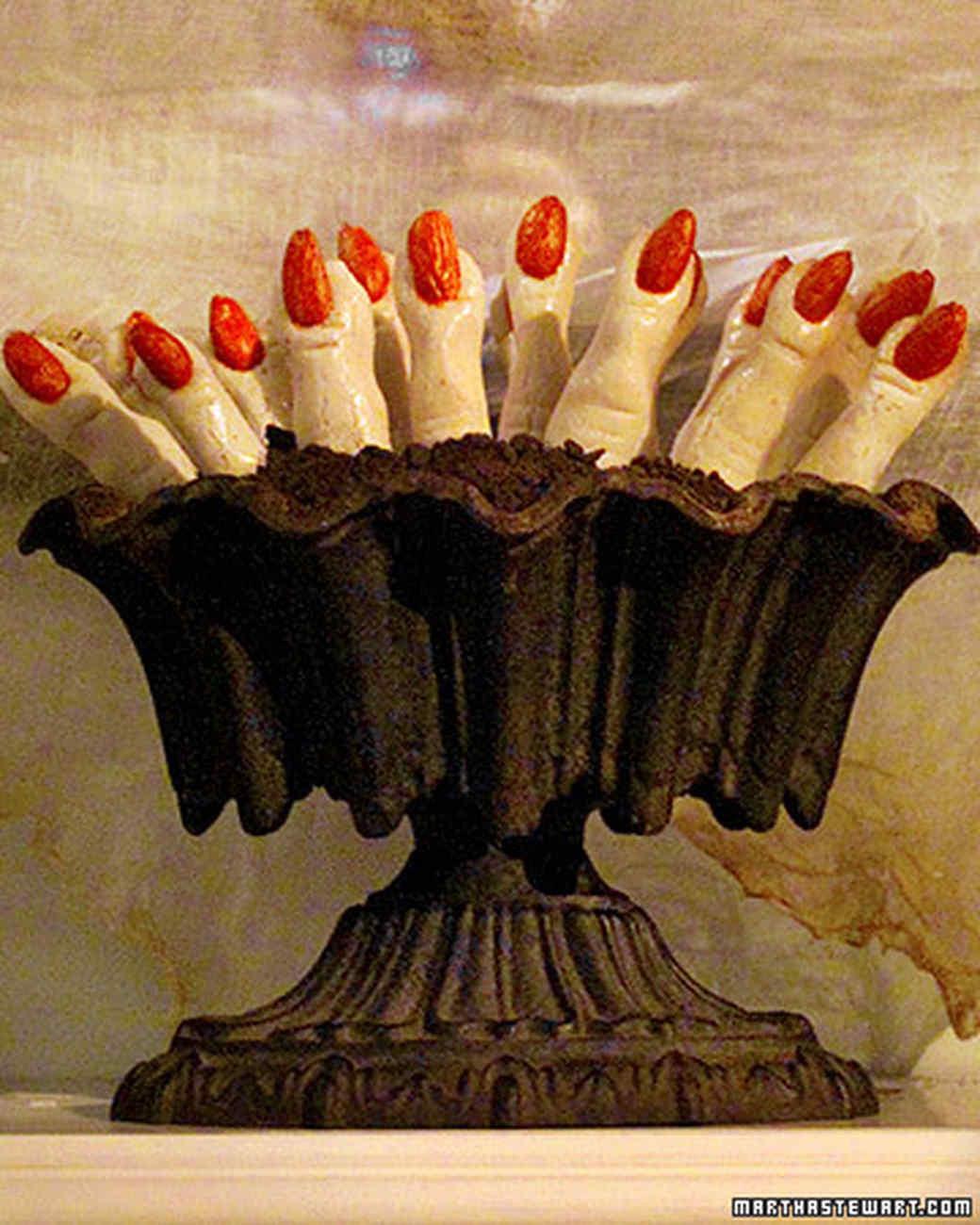 Fingers Cookies Halloween  La s Fingers Recipe