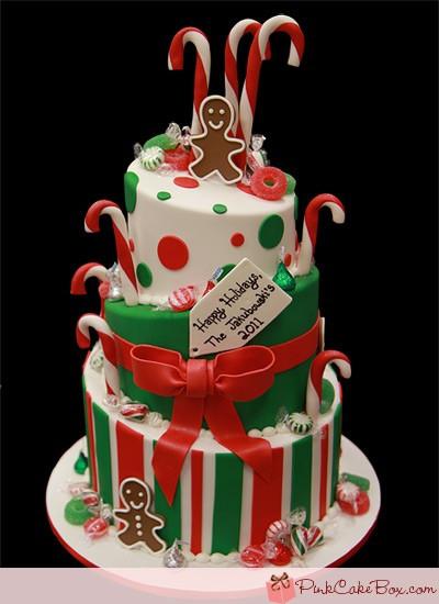 Fondant Christmas Cakes  Christmas Theme Cakes and Cupcakes Cakes and Cupcakes Mumbai