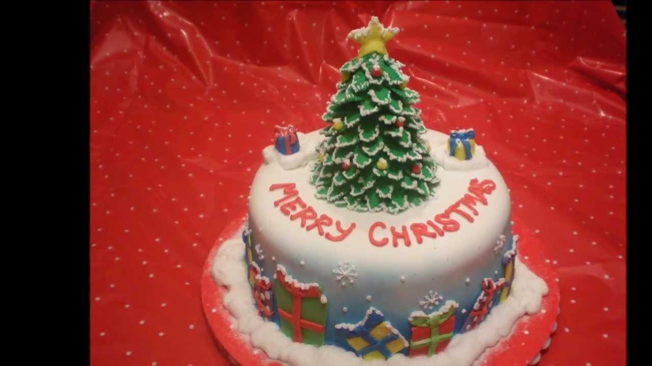 Fondant Christmas Cakes  Christmas Ideas Fondant Cakes