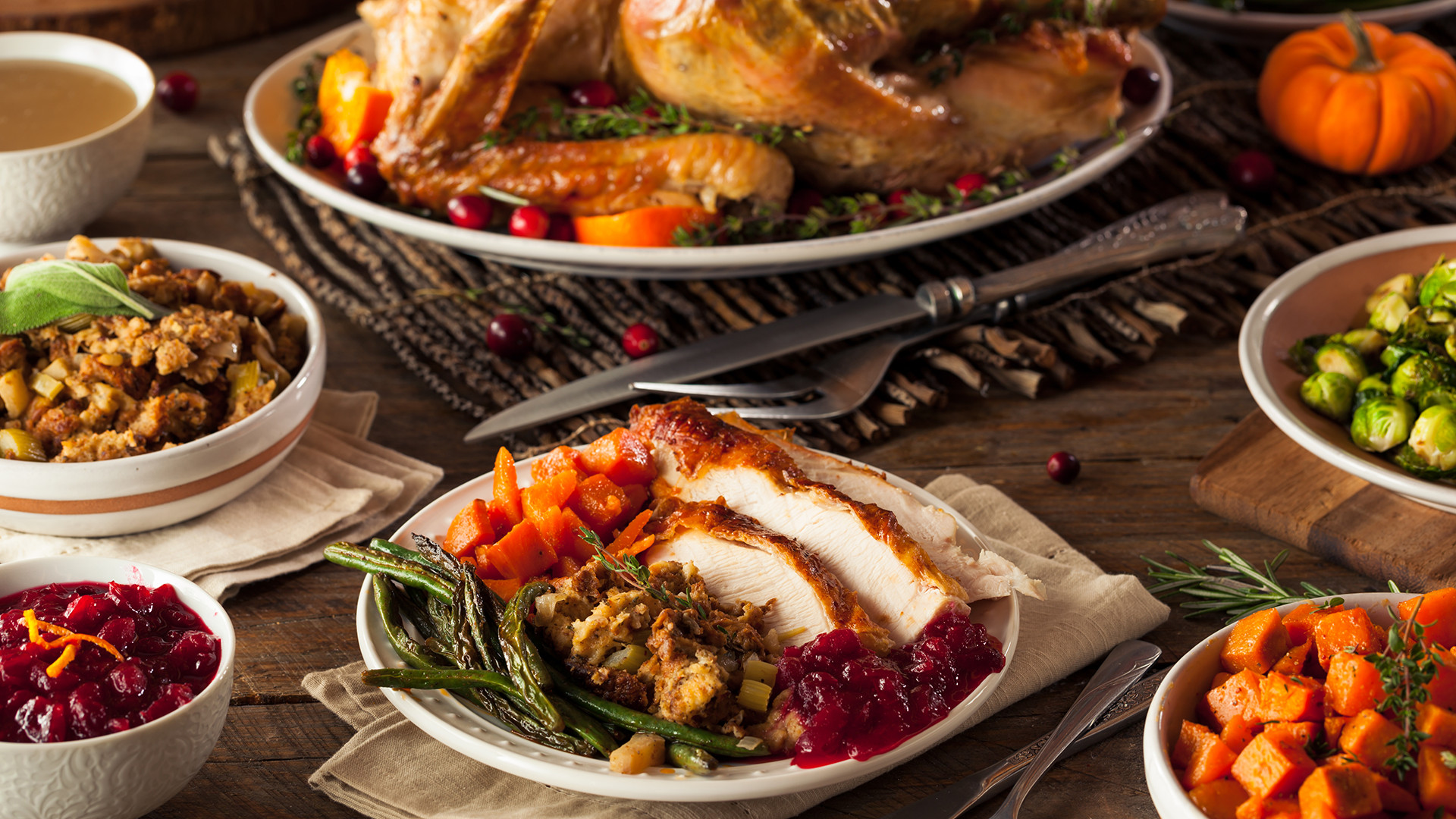 Food 4 Less Thanksgiving Dinners  The Marilyn Denis Show Food Cooking Recipes