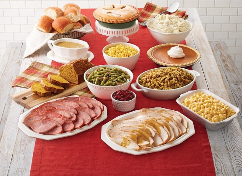 Food 4 Less Thanksgiving Dinners  Bob Evans restaurants offer Thanksgiving dinner to go