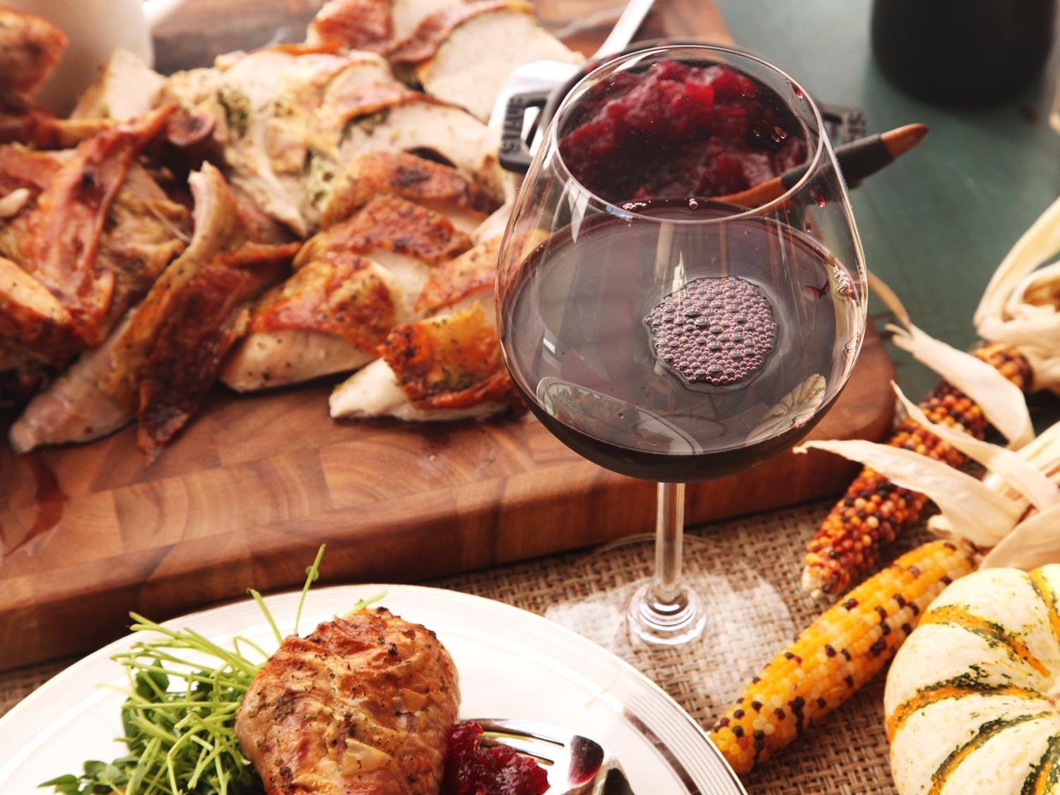 Food 4 Less Thanksgiving Dinners  Thanksgiving Wine Made Easy A Sommelier s Advice