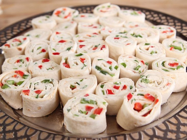 Food Network Christmas Appetizers  Holiday Roll Ups Recipe funny