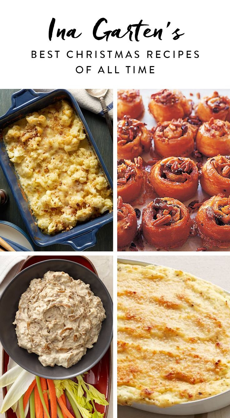 Food Network Christmas Appetizers  Ina Garten's Best Christmas Recipes of All Time