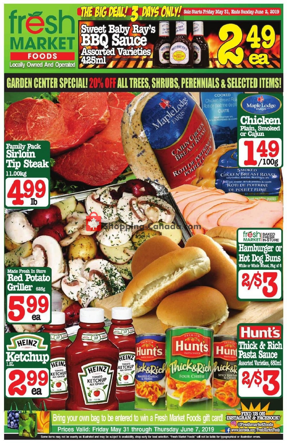 Fresh Market Thanksgiving Dinner 2019  Flyer and weekly ads Fresh Market Foods Canada Big