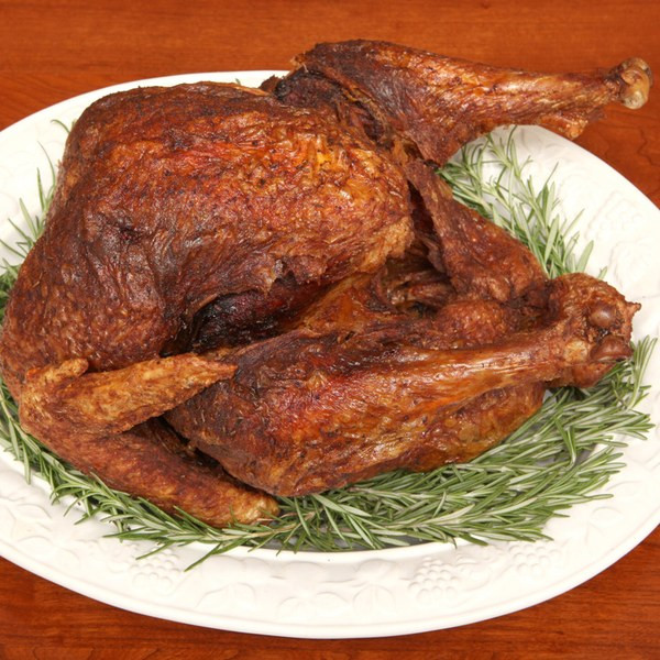 Fried Turkey For Thanksgiving  Deep Fried Turkey with Herbs recipe
