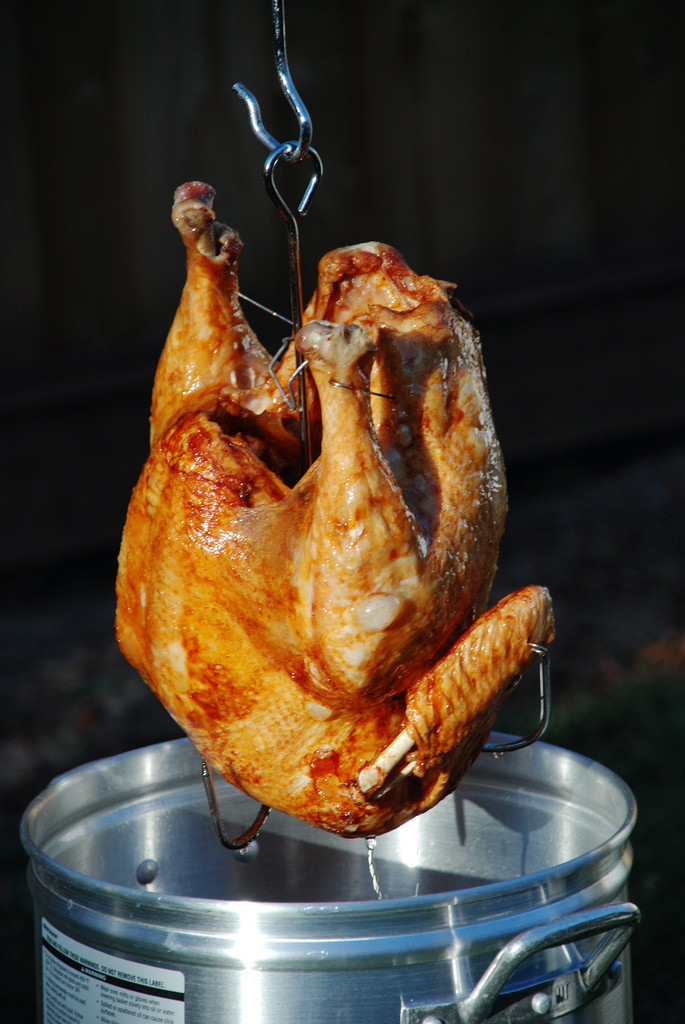 Fried Turkey For Thanksgiving  5 Steps For Deep Frying a Turkey Without Burning Your