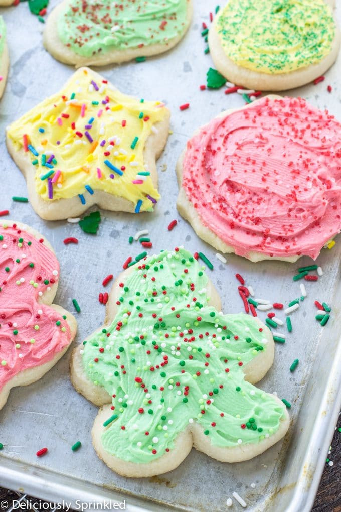 Frosting For Christmas Cutout Cookies  The Best Sugar Cookie Frosting