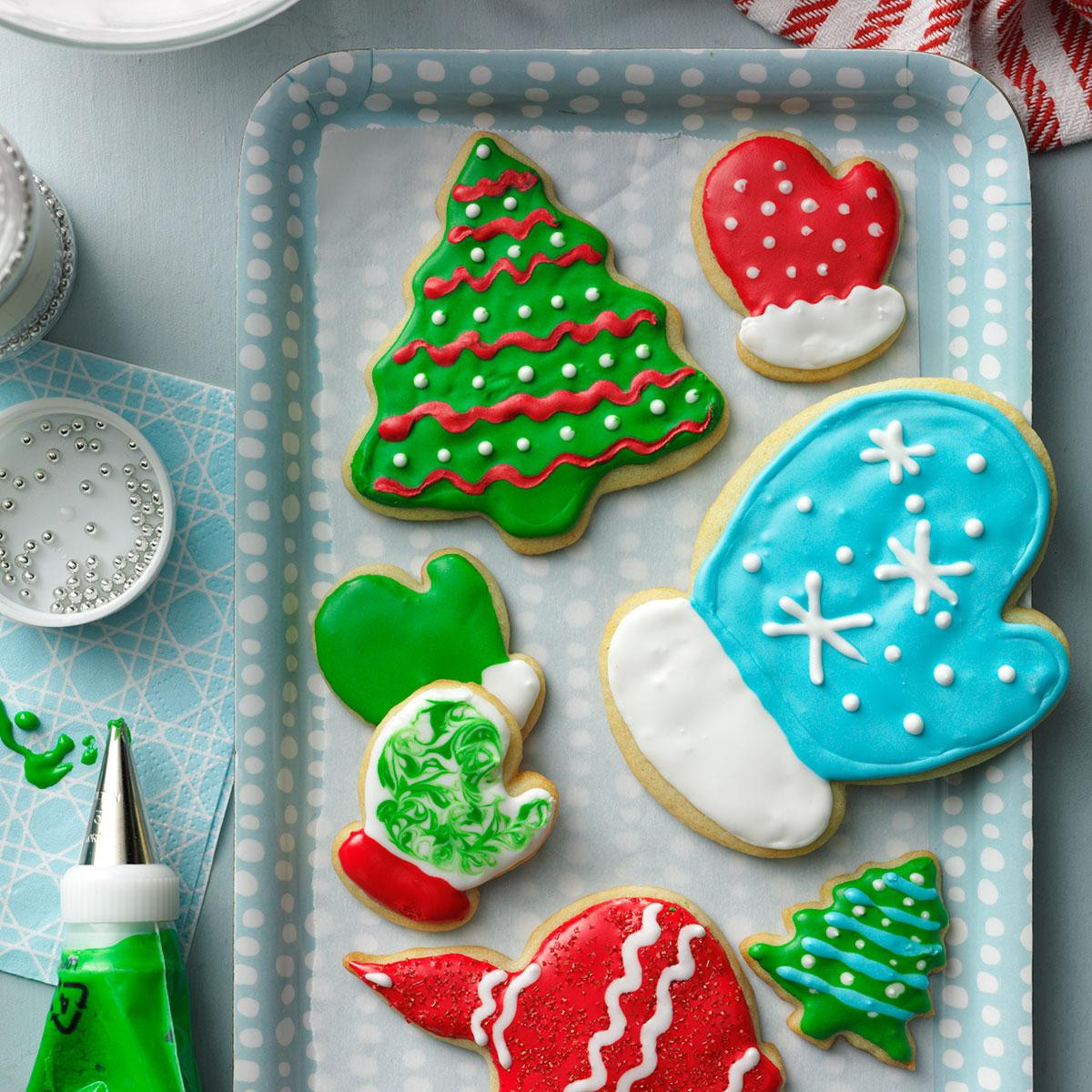 Frosting For Christmas Cutout Cookies  Holiday Cutout Cookies Recipe