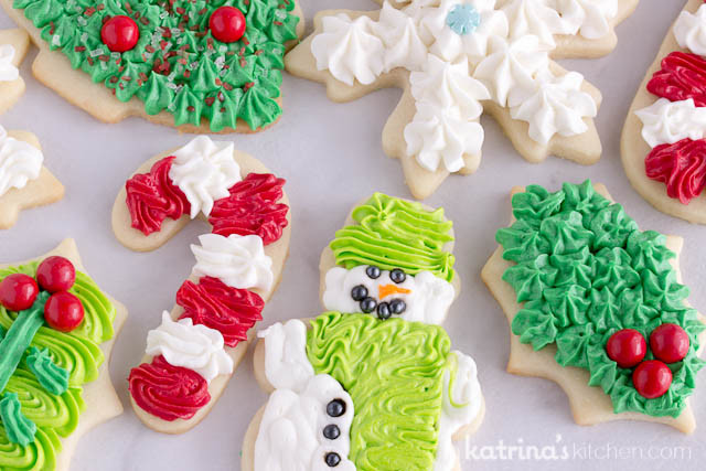 Frosting For Christmas Cutout Cookies  Christmas Cookie Frosting