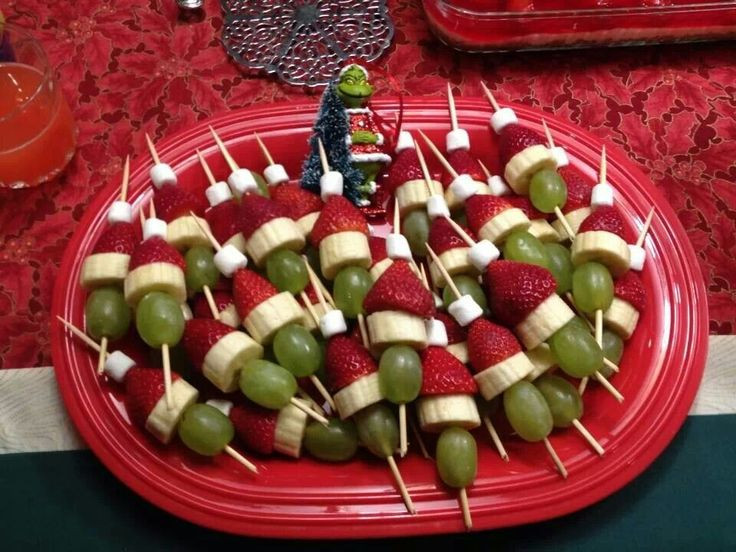 Fun Christmas Appetizers  Grinch appetizer Easy fun Christmas