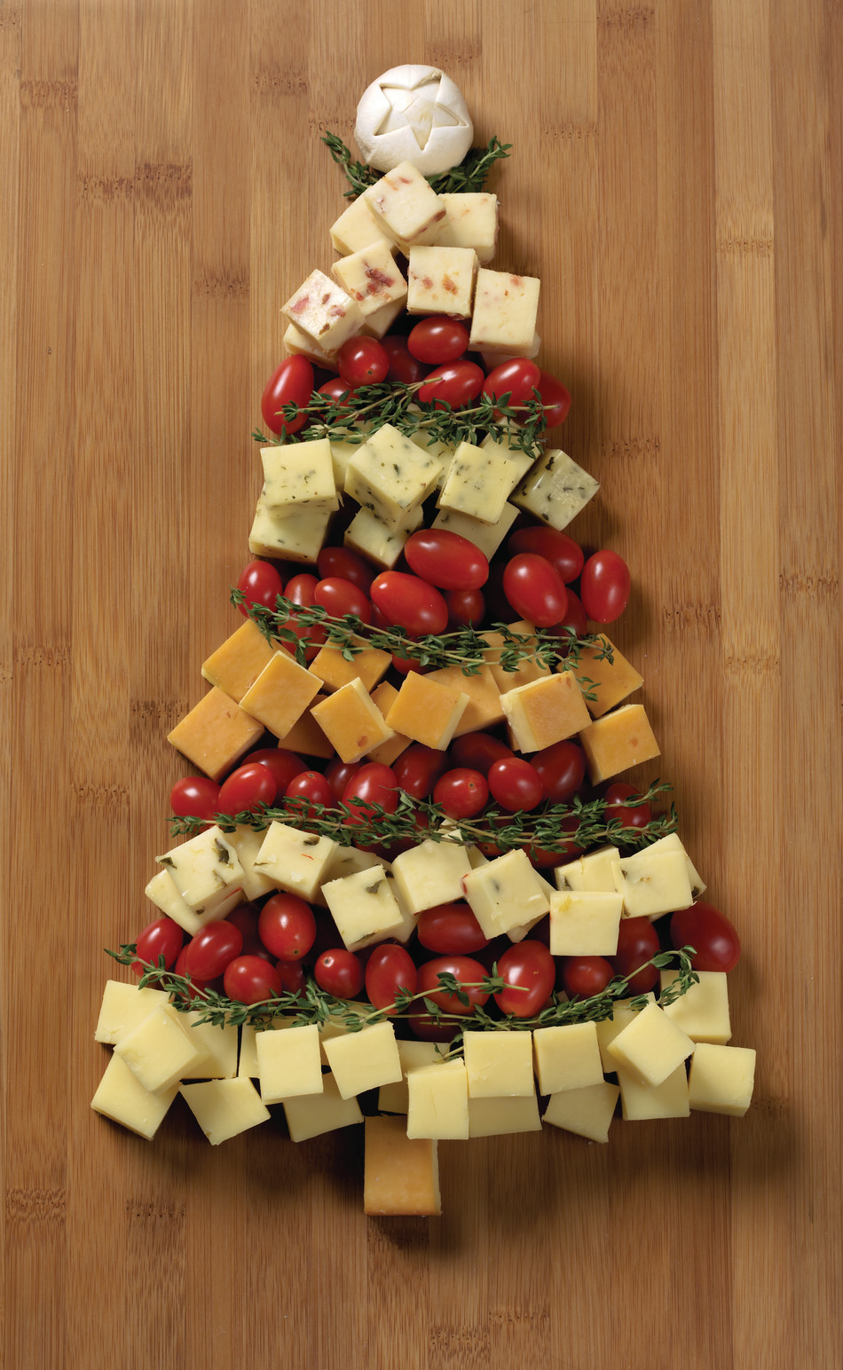 Fun Christmas Appetizers  Christmas Appetizer Recipes Tree Cheese Board Idea