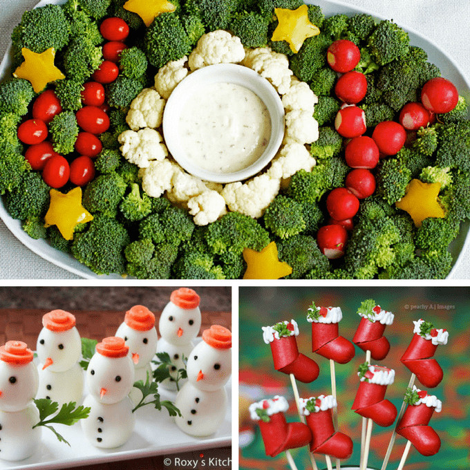 Fun Christmas Appetizers  20 creative Christmas appetizers The Decorated Cookie