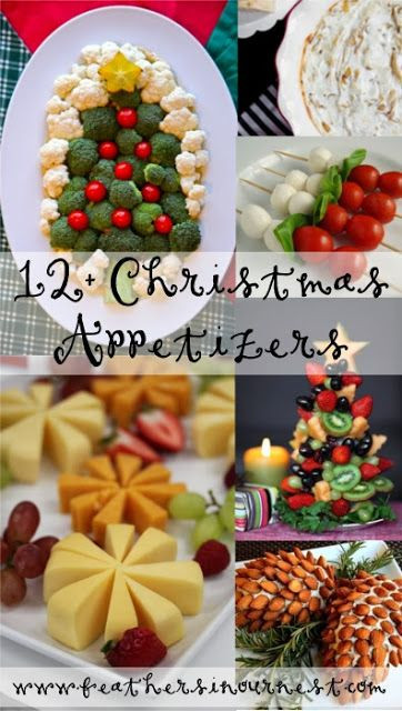 Fun Christmas Appetizers  Christmas party food Christmas parties and Parties food