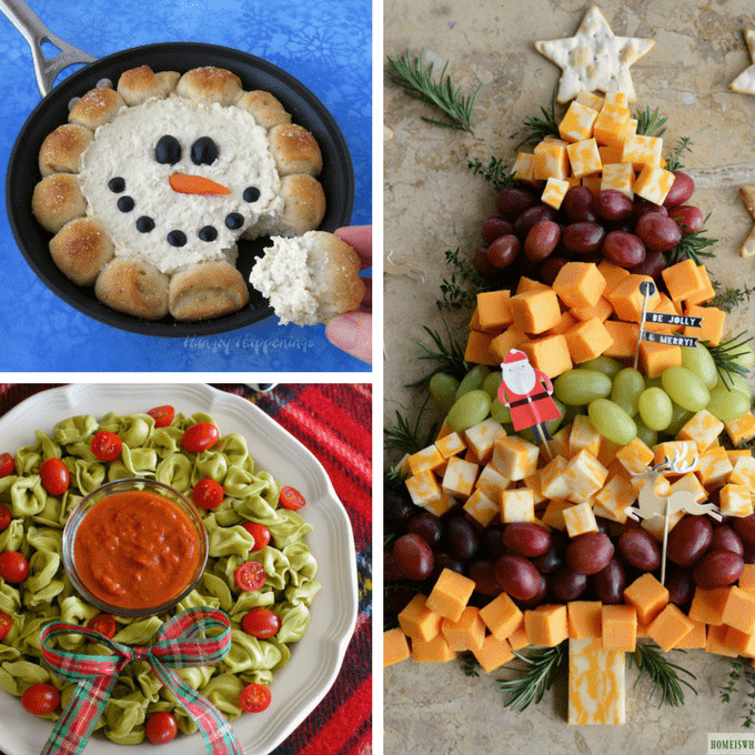 Fun Christmas Appetizers  CHRISTMAS APPETIZERS 20 creative and fun holiday appetizers