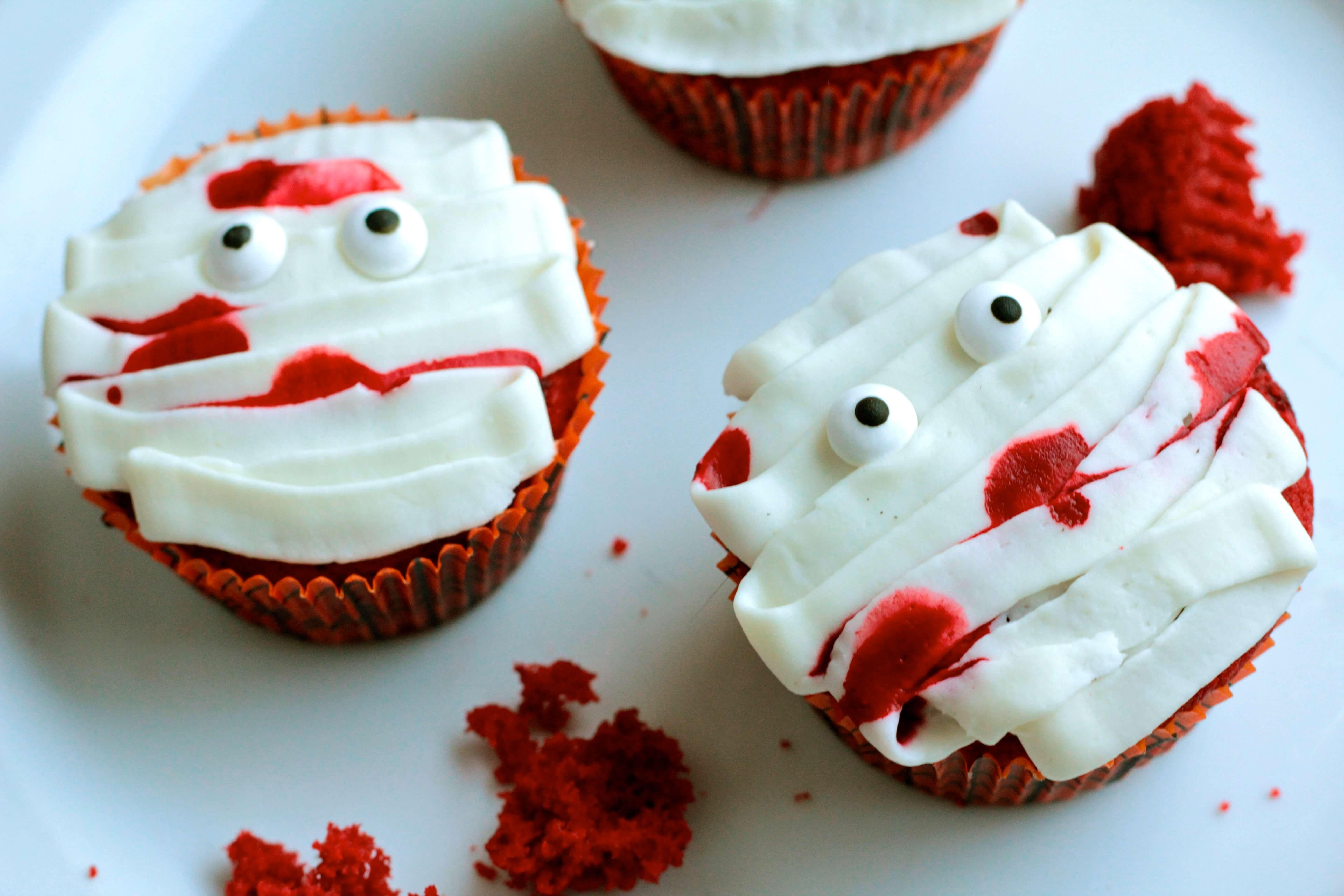 Fun Halloween Cupcakes  Fun Halloween Cupcakes