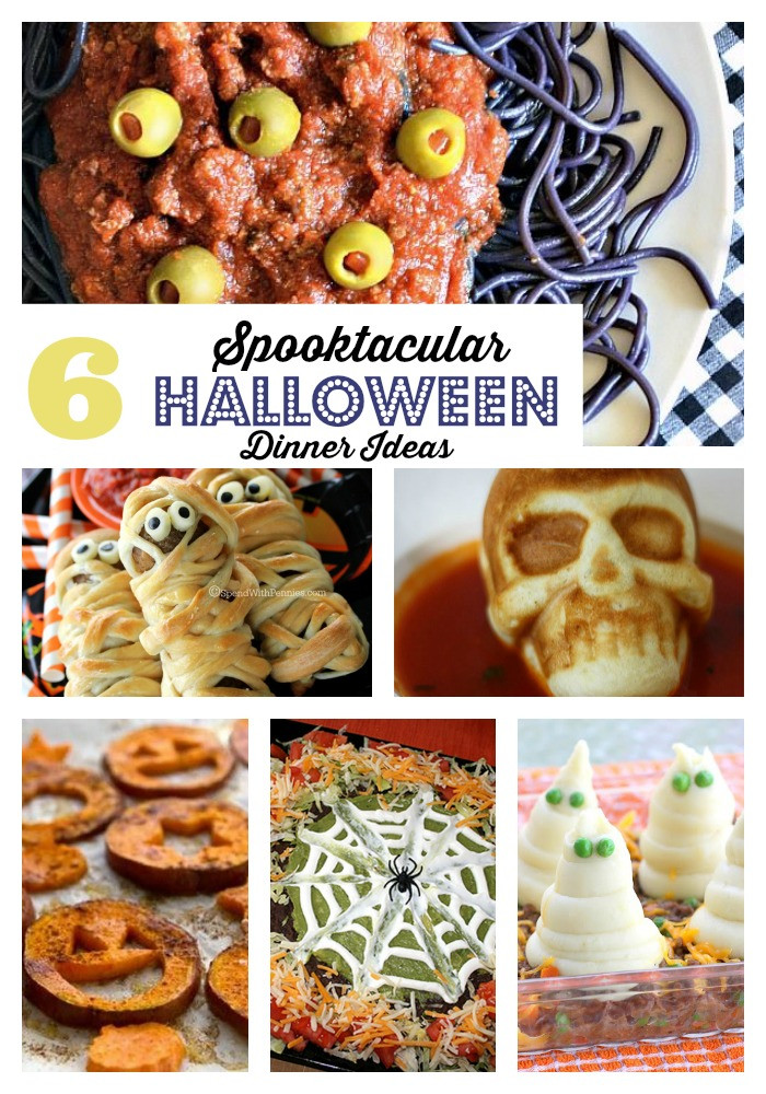 Fun Halloween Dinners Ideas  Spooktacular Halloween Dinner Ideas