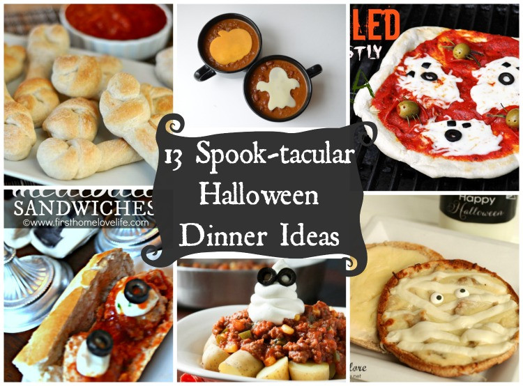 Fun Halloween Dinners Ideas  Last Minute Halloween Dinner Ideas The Cards We Drew