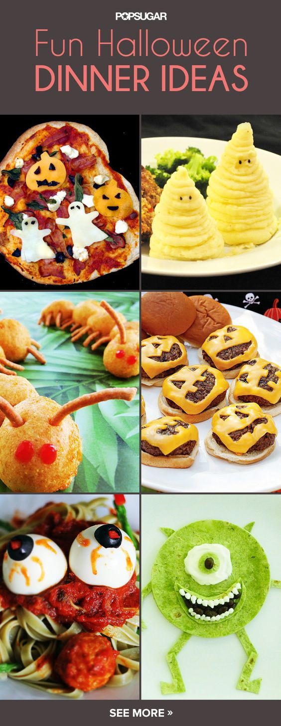 Fun Halloween Dinners Ideas  Children s Classic