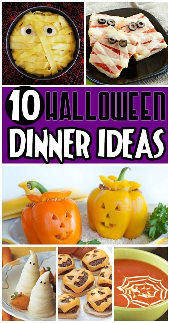 Fun Halloween Dinners Ideas  50 FUN Halloween Foods Halloween Themed Food for Every Meal