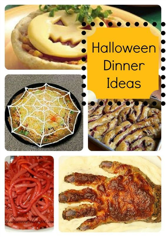Fun Halloween Dinners Ideas  Pumpkins The o jays and Halloween on Pinterest