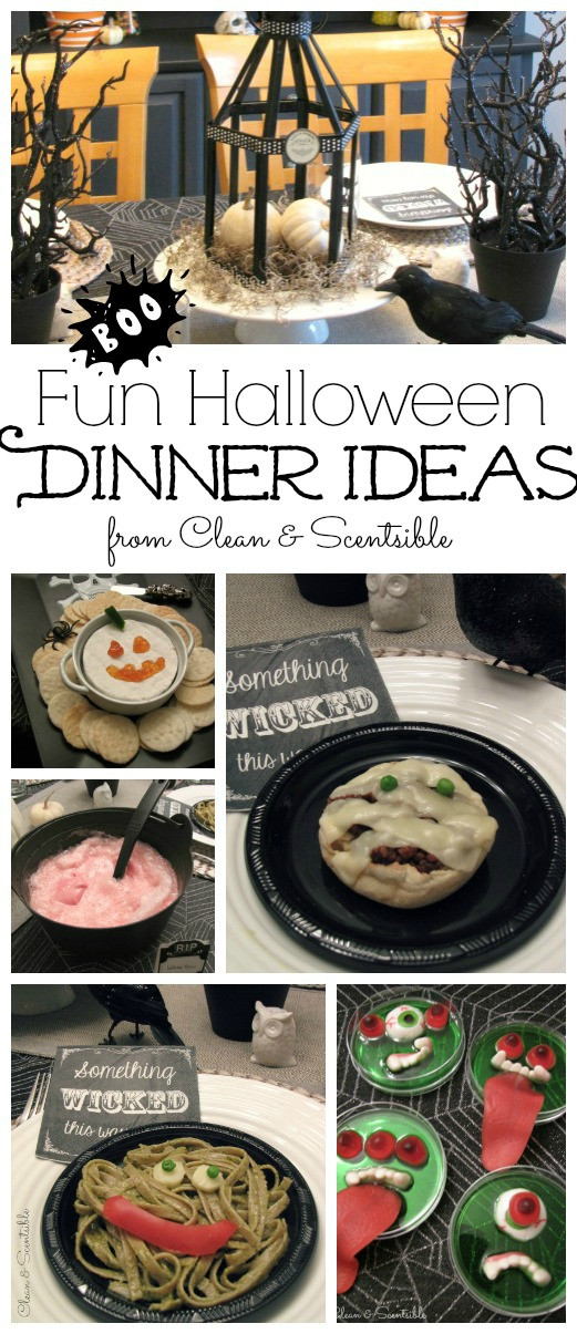 Fun Halloween Dinners  Fun Halloween Dinner Ideas