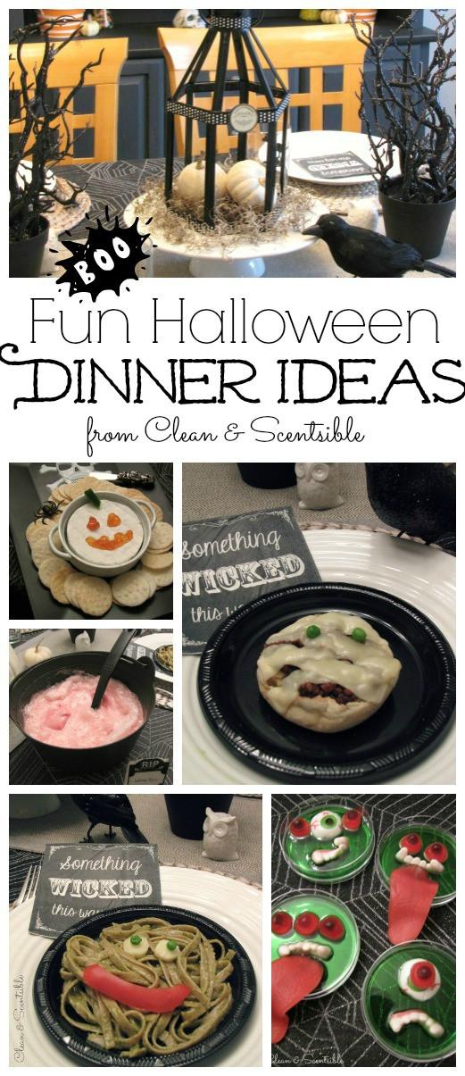 Fun Halloween Dinners  Fun Halloween Dinner Ideas
