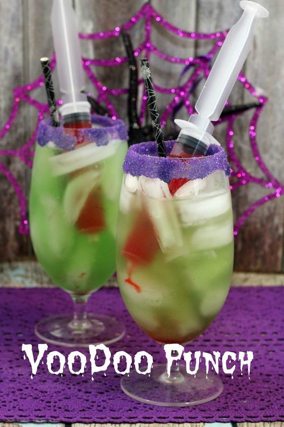 Fun Halloween Drinks Alcohol  Voodoo Punch Non Alcoholic Halloween Drinks Livingly