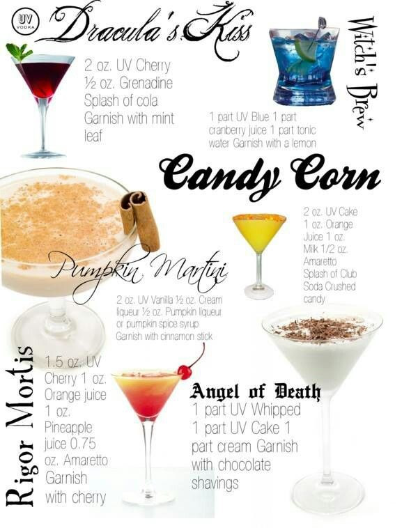 Fun Halloween Drinks Alcohol  Halloween Ideas 6 Spooky Cocktails