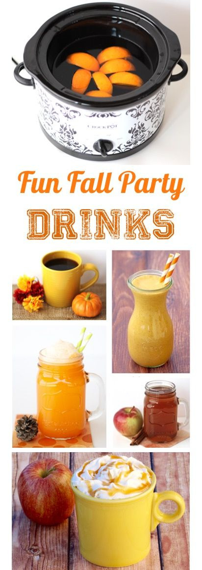 Fun Thanksgiving Drinks  Fun Fall Party Drinks You ll love these Easy Drink