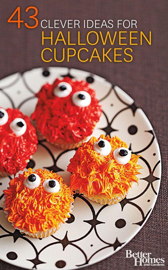 Funny Halloween Cupcakes  Wickedly Fun Halloween Cupcakes