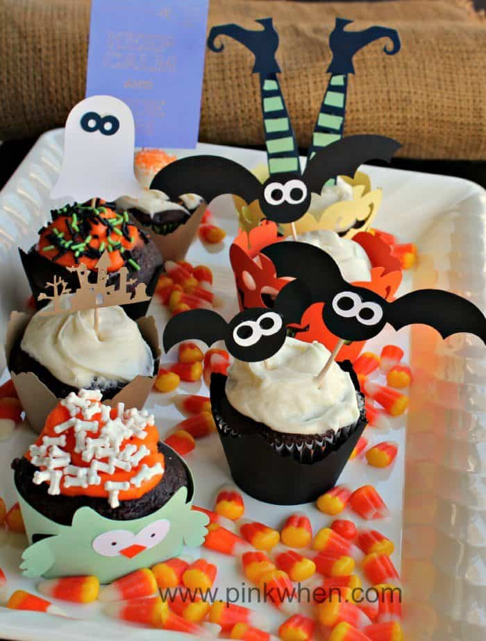 Funny Halloween Cupcakes  20 Wickedly Fun Halloween Cupcakes The Flying Couponer