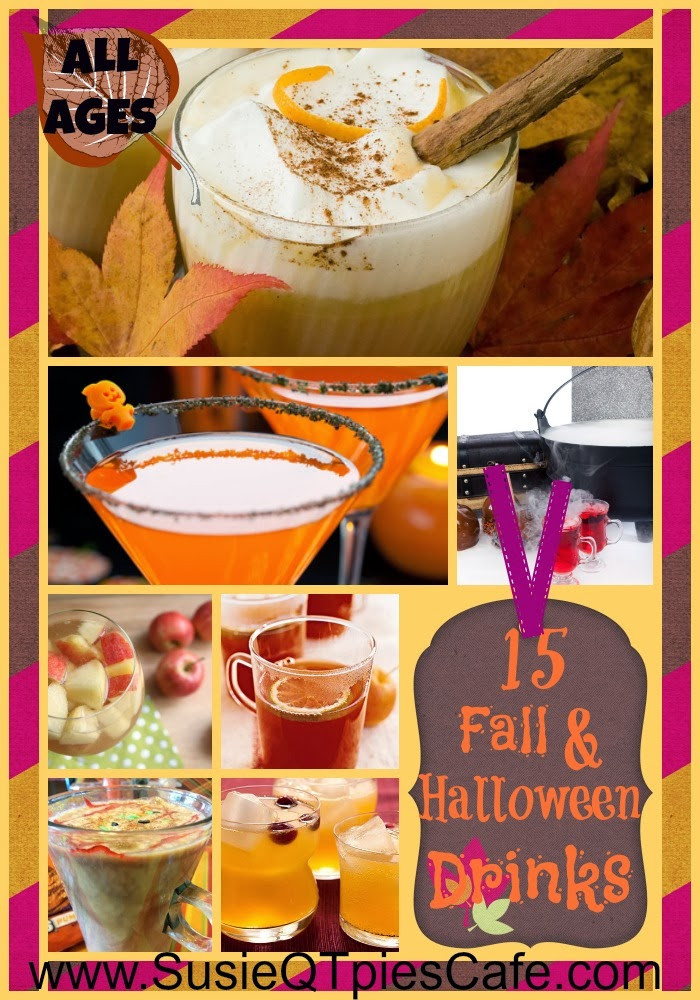 Funny Halloween Drinks  SusieQTpies Cafe 15 Fun Festive Fall and Halloween Party