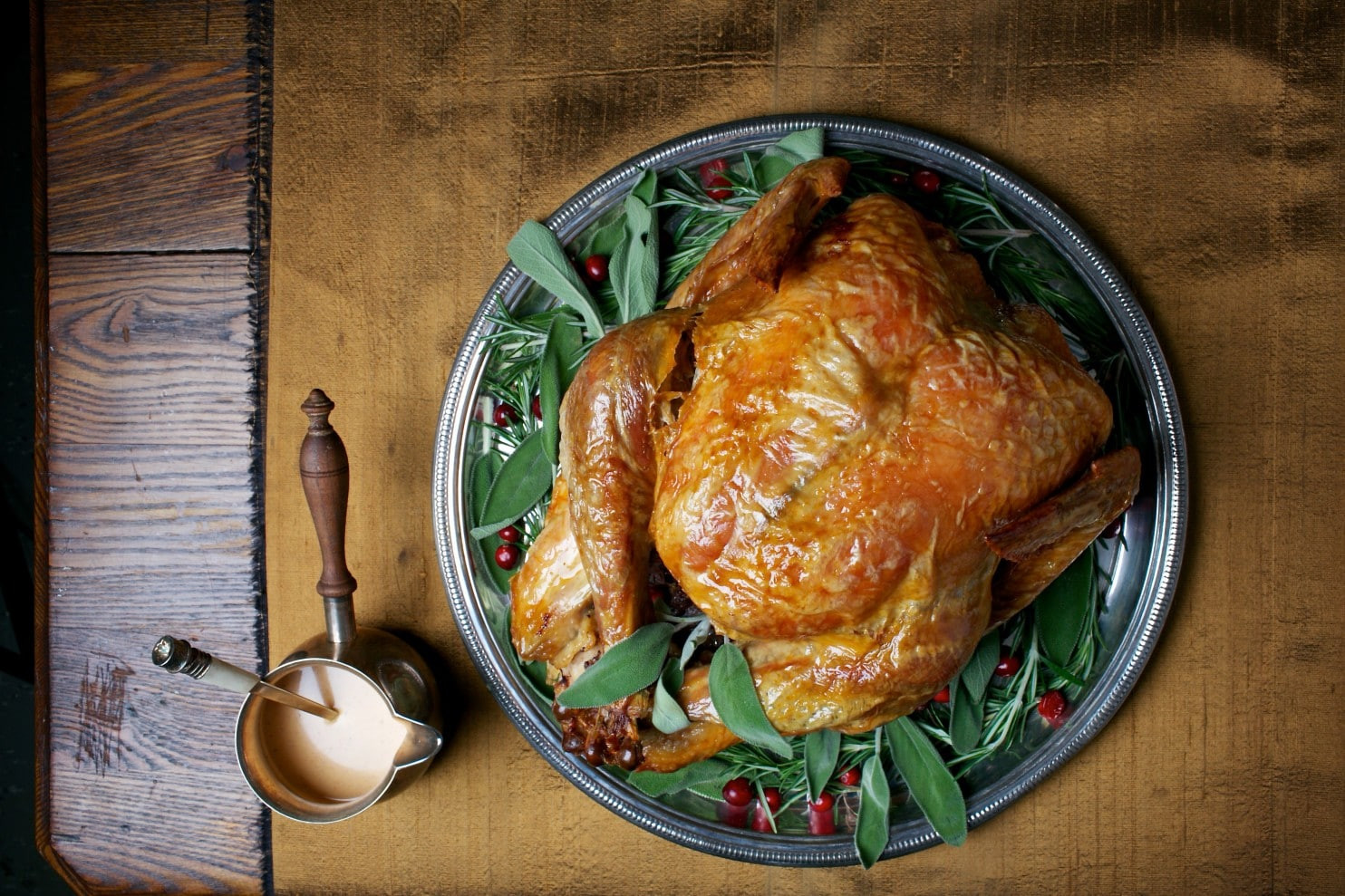 Gelson'S Thanksgiving Dinner 2019  Simple Roast Turkey With Simplest Gravy The Washington Post