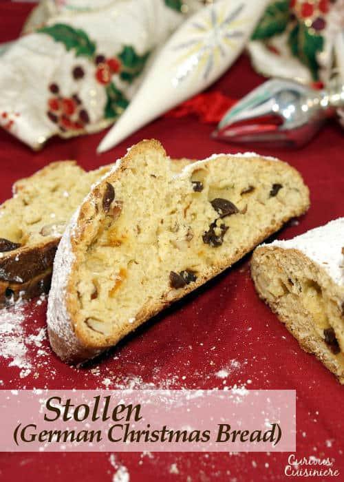 German Christmas Bread Stollen Recipe  Stollen German Christmas Bread • Curious Cuisiniere