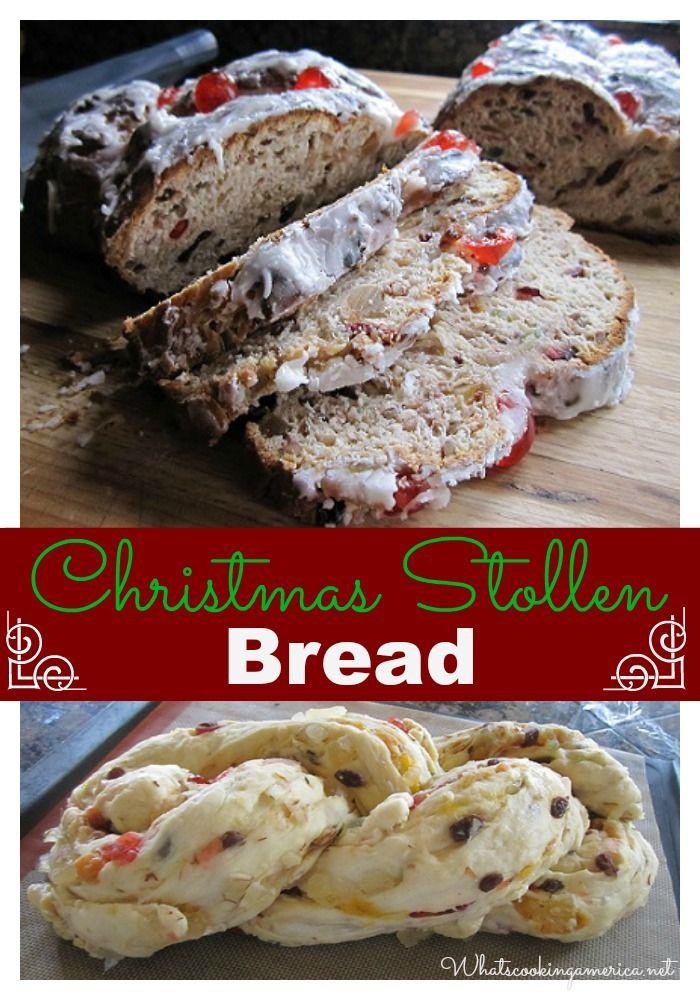 German Christmas Bread Stollen Recipe  Christmas Dresden Stollen Recipe Whats Cooking America