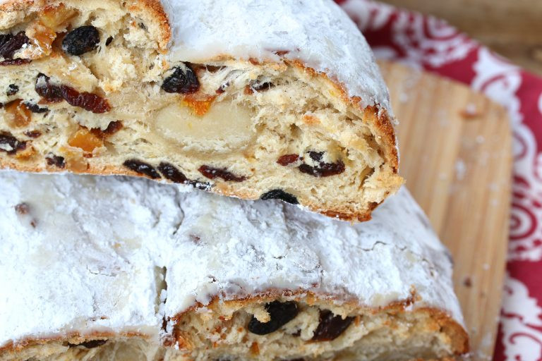 German Christmas Bread Stollen Recipe  BEST German Christmas Stollen Christstollen The Daring