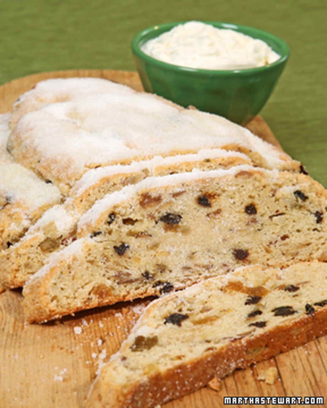 German Christmas Bread Stollen Recipe  Holiday Fruitcake and Sweet Bread Recipes