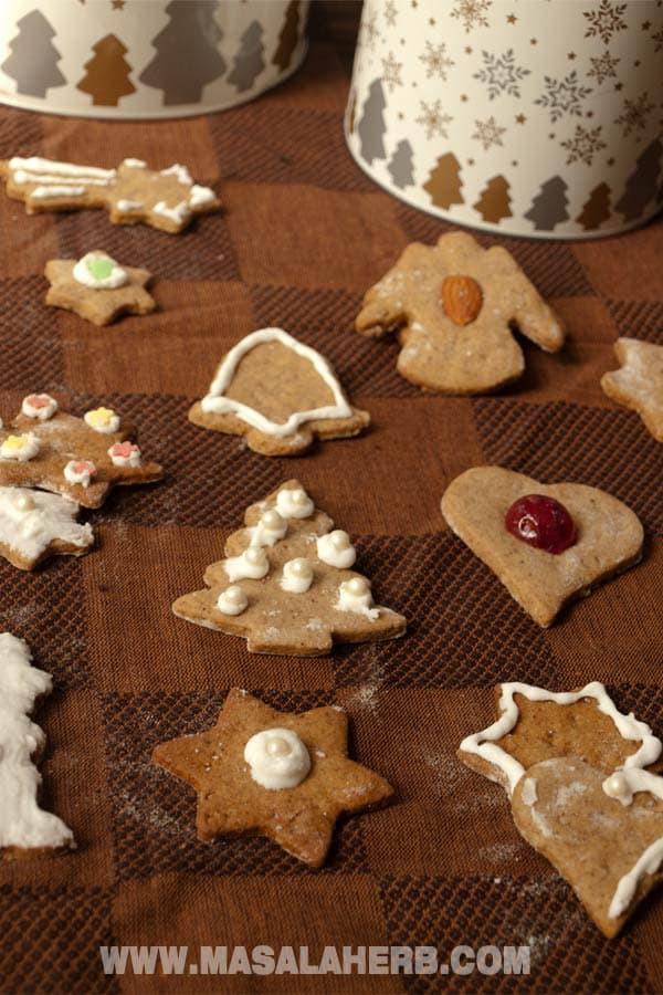 German Christmas Cookies  Classic Lebkuchen Recipe German Christmas Cookies [EASY ]