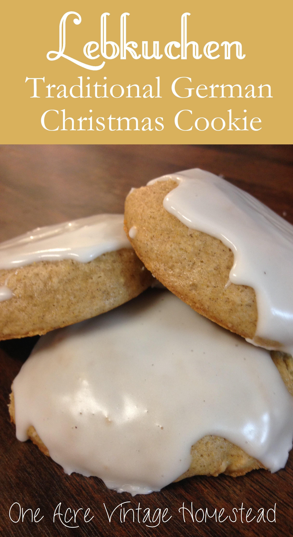 German Christmas Cookies Lebkuchen  Lebkuchen A Traditional German Gingerbread Christmas Cookie